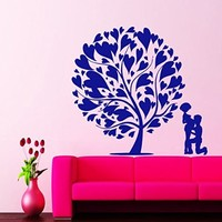 Wall Decals Love Tree Mothercare Decal Vinyl Sticker Home Decor Nursery Bedroom Inerior Window Decals Art Murals