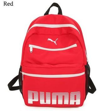 PUMA 2018 new outdoor leisure travel computer backpack backpack red