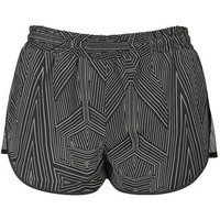 Reflective Mesh Runner Shorts by Ivy Park