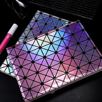 Luxury Fashion Bling Bling Laser Drilling Diamond Case for iPad Mini 1 2 3 4 Air 1 2 Stand Cover Holder Automatic Wake Up Sleep
