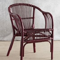 Pari Rattan Chair by Anthropologie