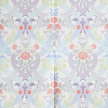 Debbie McKeegan Delia Damask Wallpaper in Multi Size: One Size Decor