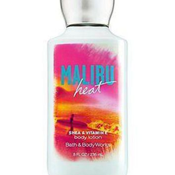 Bath & Body Works MALIBU HEAT Shea & Vitamin E Body Lotion 8oz