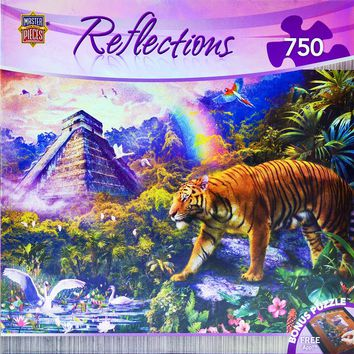 Reflections - Clandestine Forest - 750 Piece Jigsaw Puzzle