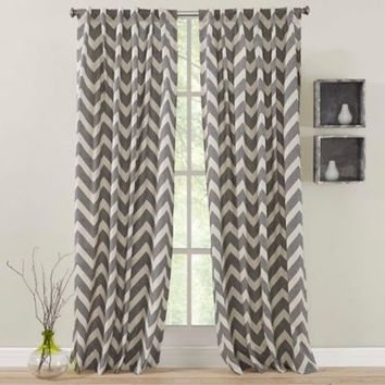 Zigami Rod Pocket Window Curtain Panel