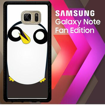 7 Adventure Time Gunter D0032 Samsung Galaxy Note FE Fan Edition Case