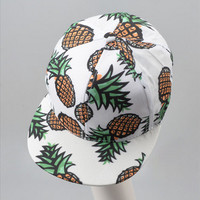 Pineapple Style Summer Fashion Lovely Women Hat = 4723421444