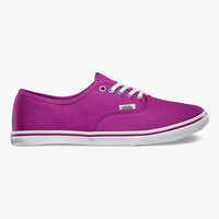 Vans Authentic Lo Pro Womens Shoes Magenta  In Sizes