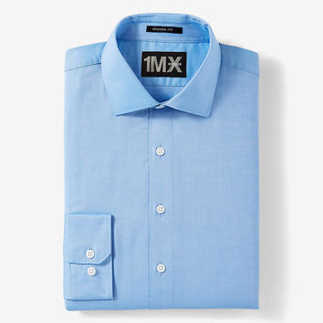 Solid Modern Fit Easy Care 1MX Shirt