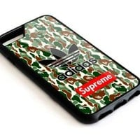 WS02-Adidas Bape Supreme iPhone 5 5s 5c 6 6s 7 8 Plus SE Phone Case