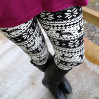 Dasher and Dancer {Leggings}