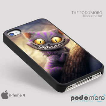 Cheshire Cat Alice In Wonderland for iPhone 4/4S, iPhone 5/5S, iPhone 5c, iPhone 6, iPhone 6 Plus, iPod 4, iPod 5, Samsung Galaxy S3, Galaxy S4, Galaxy S5, Galaxy S6, Samsung Galaxy Note 3, Galaxy Note 4, Phone Case