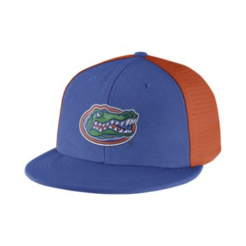 Nike College Players True Swoosh Flex (Florida) Fitted Hat Size FLX (Blue)