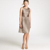 Women's dresses - wear to work - Marguerite dress in silk charmeuse - J.Crew