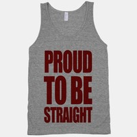 Proud To Be Straight (tank)