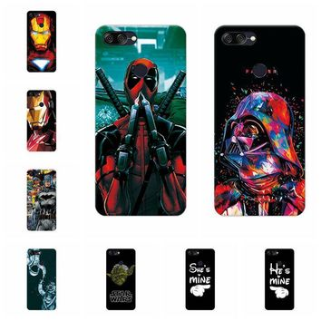 Deadpool Dead pool Taco Charming  Spiderman Case For Asus Zenfone Max Plus ZB570TL Soft TPU Cases Fundas For Asus Max Plus M1 X018D Cover Capa AT_70_6