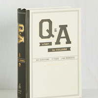 Q&A a Day for College 4 Year Journal