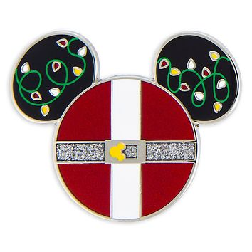Disney Parks Santa Mickey Mouse Icon Holiday Pin New with Card