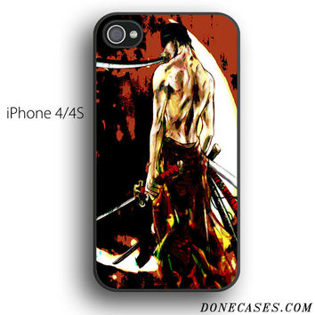 zoro one piece case for iPhone 4[S]