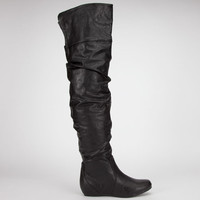 Soda Frib Womens Boots Black  In Sizes