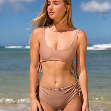 ACACIA Swimwear 2018 Hunter Top in Barefoot Cord