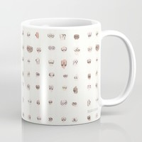 boobs Mug by Julia Heffernan