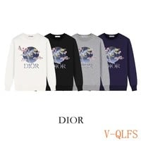 HCXX 19Aug 425 Dior Mechanical Dragon Printed Terry Sweater
