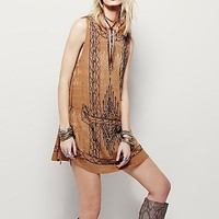 Free People Womens Love Story Mini Dress