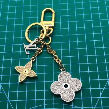 Louis Vuitton Lv Blooming Flower Strass Bag Charm And Key Holder | M64265