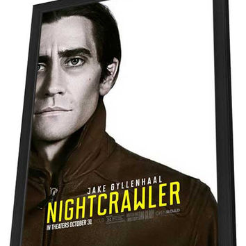 Nightcrawler 27x40 Framed Movie Poster (2014)