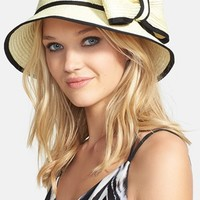 kate spade new york 'fancy' bow hat