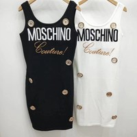 Moschino Print Women Dress