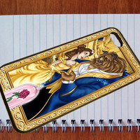 Beauty and The Beast Classic Disney Case for iPhone 4/4s,iPhone 5/5s/5c,ipod 4/5,Samsung Galaxy S3/s4/s5 plastic & Rubber case