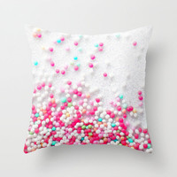 *** Sweet Sugarpearls *** Throw Pillow   ..... from Monika Strigel .... Society 6 in 3 Sizes for your sweet bedroom and your lovely apartmen