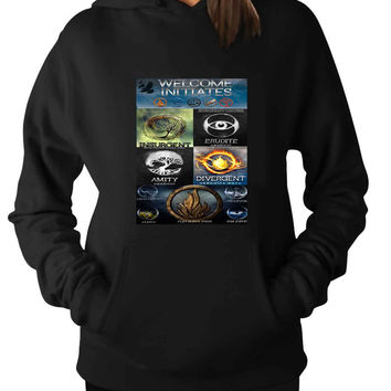 Divergent One Quote new For Man Hoodie and Woman Hoodie S / M / L / XL / 2XL*AP*