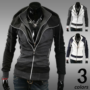Winter Men Hats Hoodies Casual Jacket [6528675779]