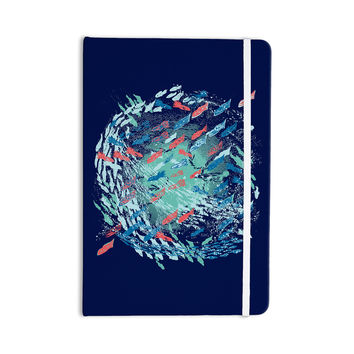"Frederic Levy-Hadida ""Underwater Life - Blue"" Blue Fish Everything Notebook"