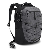 Borealis Backpack in Mid Grey and Asphalt Grey by The North Face