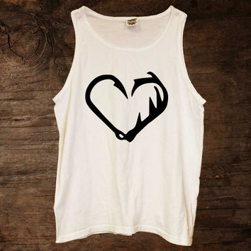 Hook & Antler Heart Tank