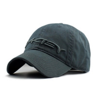 Gray Oakley Baseball Cap Hat