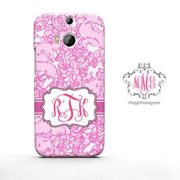 She is a Fox Lilly Pulitzer Monogram HTC Case M9, M8 Case