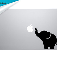 Cute Little Elephant Mac Decal Laptop Sticker Mac Decals for 13 15 17 inch Macs