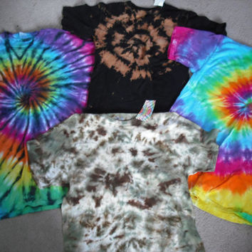 Surprise Tie dye T shirt Adult sizes