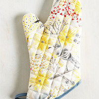 Your Life's Chirp Oven Mitt | Mod Retro Vintage Kitchen | ModCloth.com