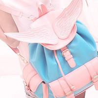 Kawaii Angel Wings Backpack