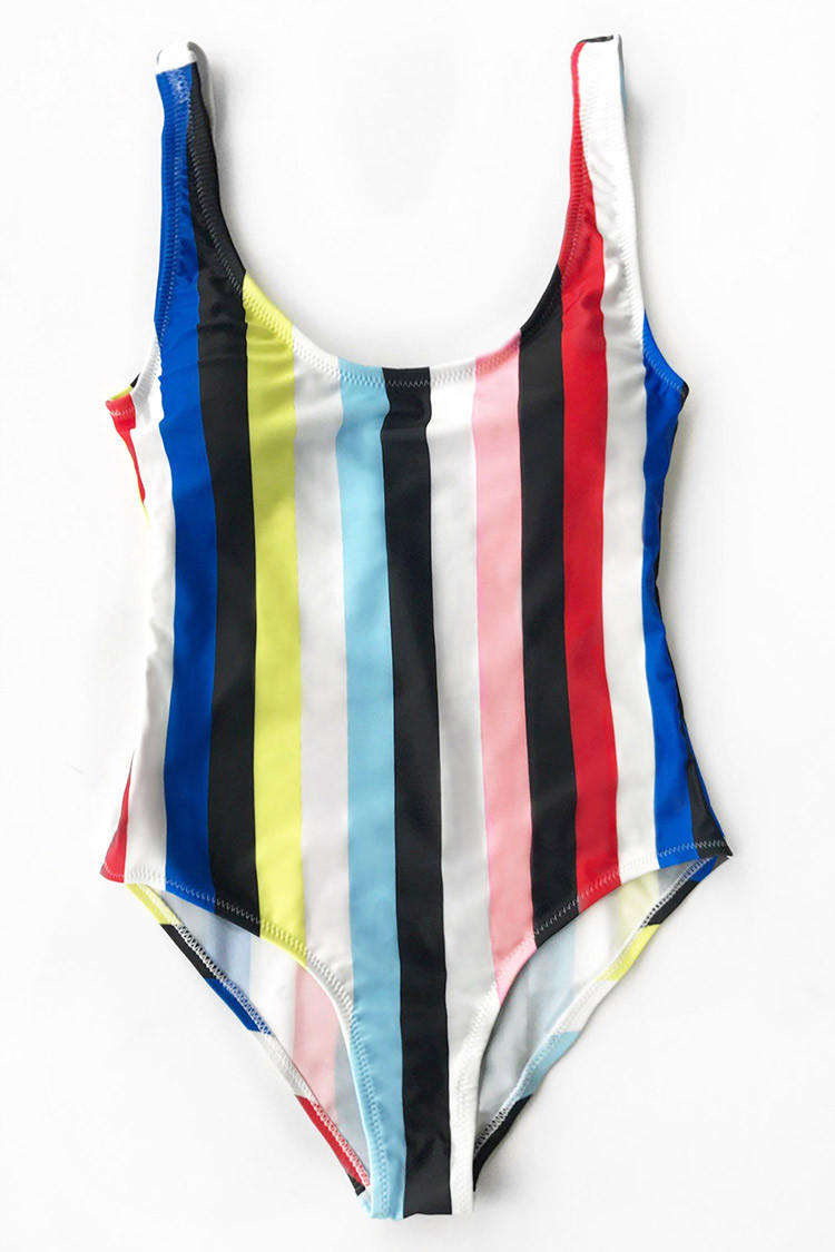 b98a24f220f Cupshe Colorful Stripes Backless from Cupshe | New Arrivals