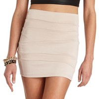 ASYMMETRICAL SEAM MINI SKIRT