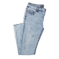 Destructed Acid Wash Jeans Jr Plus 223139042 | Jeans | Bottoms | Juniors | Burlington Coat Factory
