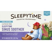 Celestial Seasonings® Sleepytime Sinus Soother® Herbal Supplement Tea Bags 20 ct Box - Walmart.com