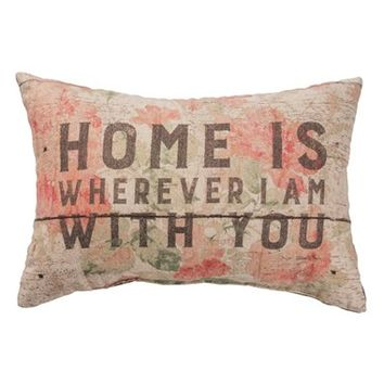 Primitives by Kathy 'Home Is Wherever I Am with You' Pillow | Nordstrom